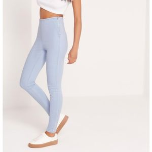 Missguided high waisted jeggings